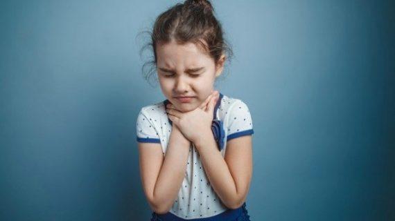 Bahaya Amandel Pada Anak